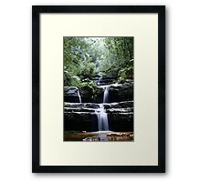 Terrace Falls, 2005 Framed Print