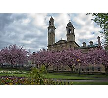 Paisley in Springtime Photographic Print