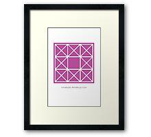 Design 90 Framed Print