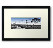 Variations #1 -  Somewhere Near Oberon, NSW - THe HDR Experience Framed Print
