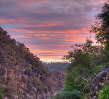 The Gorge at Sunset by paulmcardle