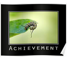 Achievement Inspirational Art Poster