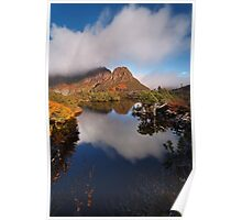 Highland Tarn reflection - Cradle Mountain N.P. Poster