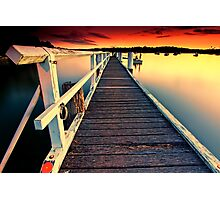 Donnelly Jetty Sunset Photographic Print