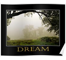 Inspiring Dreams Inspirational Art Poster