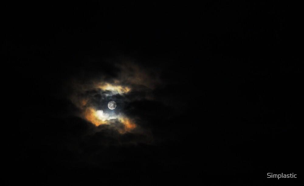 A dark moon nebula by Simplastic