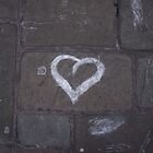 White_Chalk_Heart by Casper