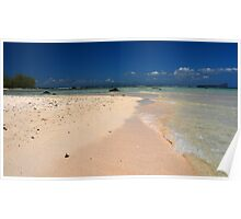 Remote Island of Mauritius Poster