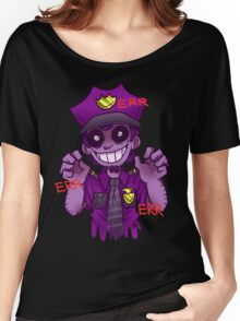 The Purple Man Women's Relaxed Fit T-Shirt