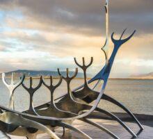 The Sun Voyager, Reykjavík, Iceland Sticker
