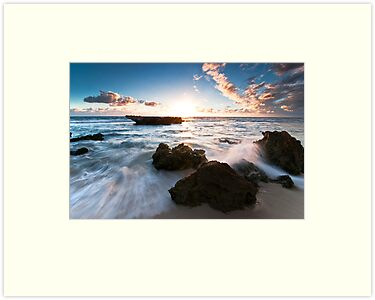 Trigg Beach  by Glen  Robinson