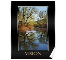 Vision Inspirational Art Poster