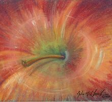 Abstract Apple by N. Sue M. Shoemaker