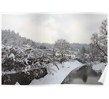 Takayama during Winter Poster