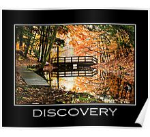 Discovery Inspirational Art Poster