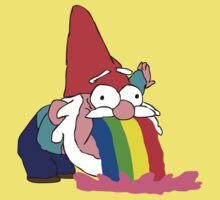 Gnome puking happiness - Gravity Falls Baby Tee