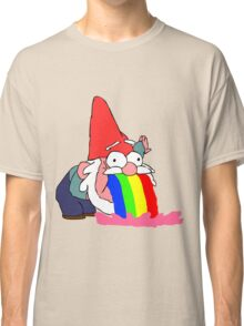 Gnome puking happiness - Gravity Falls Classic T-Shirt