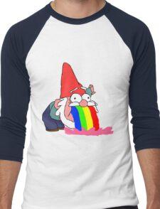 Gnome puking happiness - Gravity Falls Men's Baseball ¾ T-Shirt