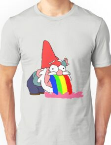Gnome puking happiness - Gravity Falls Unisex T-Shirt