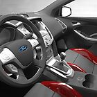 2013 Ford Focus Interior Rendering by LakePark