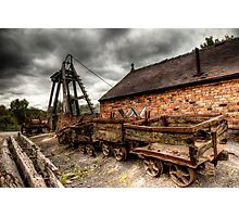 Victorian Mine Photographic Print