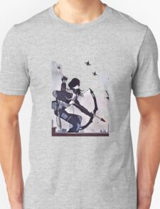 katniss characters from mocking jay part 2 hunger games T-Shirt