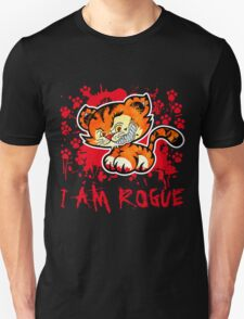 RogueTiger.com - Smirk Red (dark) T-Shirt
