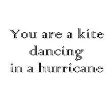 Kite in a Hurricane by RDPW