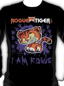 RogueTiger.com - Smirk Logo Purple (dark) T-Shirt
