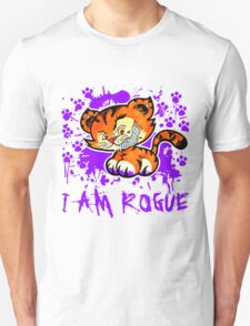 RogueTiger.com - Smirk Purple (light) T-Shirt