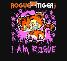 RogueTiger.com - Smirk Logo Pink (dark) Unisex T-Shirt