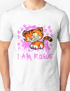 RogueTiger.com - Smirk Pink (light) T-Shirt