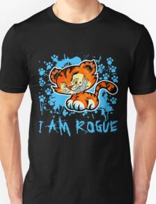 RogueTiger.com - Smirk Light Blue (dark) T-Shirt
