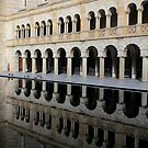 Reflecting Pool - University of Western Australia by Leah Kennedy