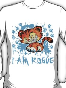 RogueTiger.com - Smirk Light Blue (light) T-Shirt