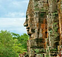 The Bayon Sees All by Karl Willson