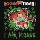 RogueTiger.com - Smirk Logo Green (dark) by roguetiger