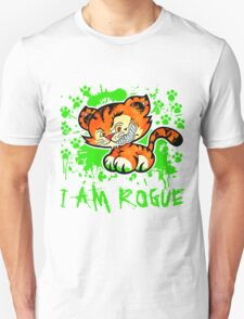 RogueTiger.com - Smirk Green (light) T-Shirt