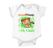 RogueTiger.com - Smirk Logo Green (light) One Piece - Short Sleeve