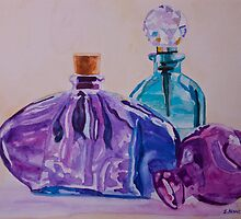 Bottles and Stoppers by JennyArmitage