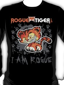 RogueTiger.com - Smirk Logo Gray (dark) T-Shirt