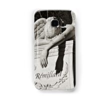 Weeping Angel II - sepia Samsung Galaxy Case/Skin