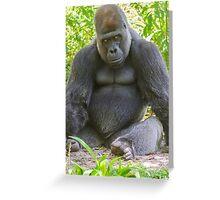 Gorilla 02 Greeting Card