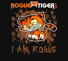 RogueTiger.com - Smirk Logo Brown (dark) Unisex T-Shirt