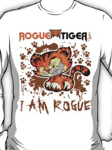 RogueTiger.com - Smirk Logo Brown (light) T-Shirt