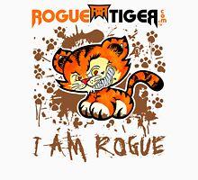 RogueTiger.com - Smirk Logo Brown (light) Unisex T-Shirt
