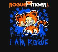 RogueTiger.com - Smirk Logo Blue (dark) Unisex T-Shirt