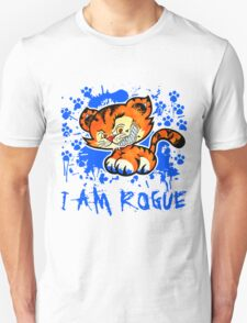 RogueTiger.com - Smirk Blue (light) T-Shirt