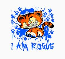 RogueTiger.com - Smirk Blue (light) Unisex T-Shirt