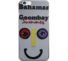 Bahamas; Goombay Summer iPhone Case/Skin